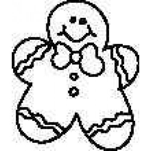 "SS10 SM. Gingerbread Man 1 1/8"""