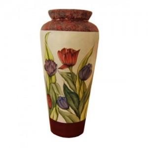 Tulip Plate & Vase (Hardcopy)