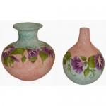 Morning Glory Vases (Piping)(Hardcopy)