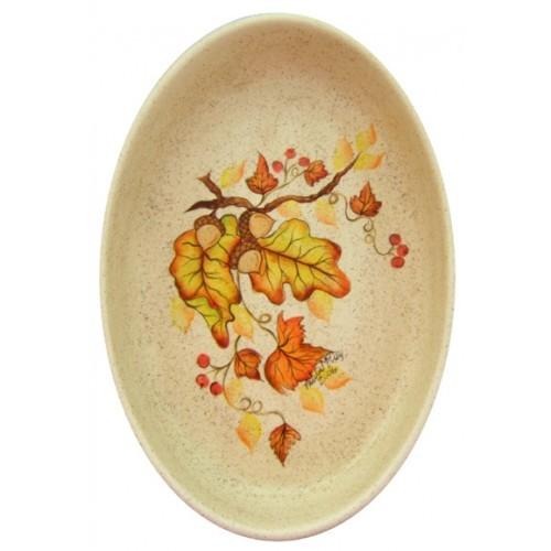 Fall Oval Baking Dish (2006 Retreat Holiday)(Hardcopy)