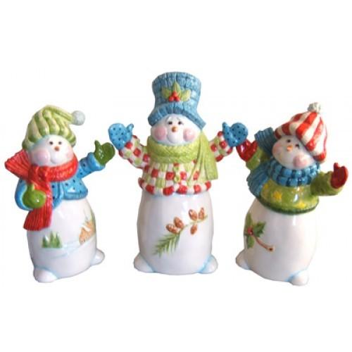 Snowmen Trio (2008 Retreat Holiday)(Hardcopy)