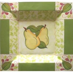 "What A ""Pear"" Plate (2009 Retreat)(Hardcopy0"