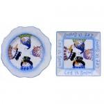 Let it Snowman Plate (2010 Retreat Holiday)(Hardcopy)