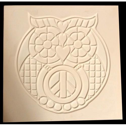 PGM-200F Hippy Owl Frit Mold