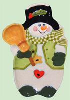 Snowman Chip-n-Dip