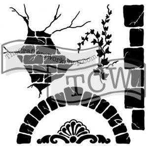 TCW563 Tuscan wall