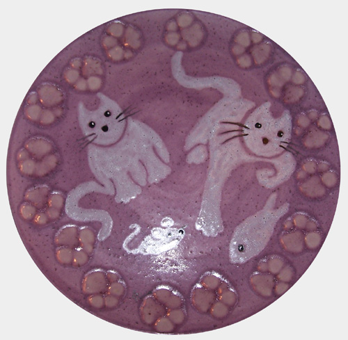 Shaving Cream Cats - By: Tricia Hardy