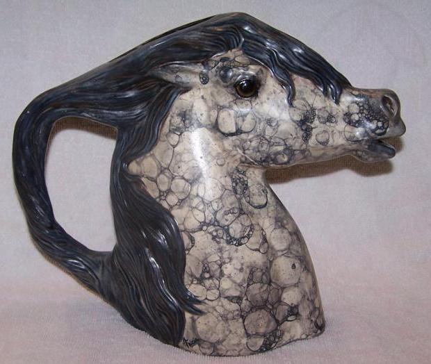 Horse Pitcher - By Tricia Hardy