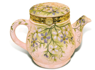 Spring Teapot - By: Jane Laurence