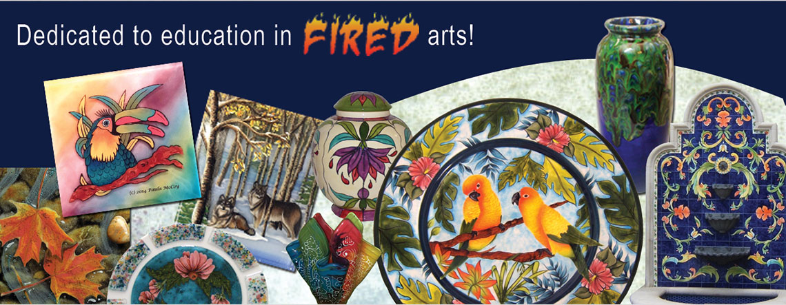 Dedicated to Education in Fired Arts!