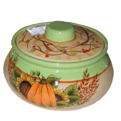 Large Round Casserole w/lid Mold