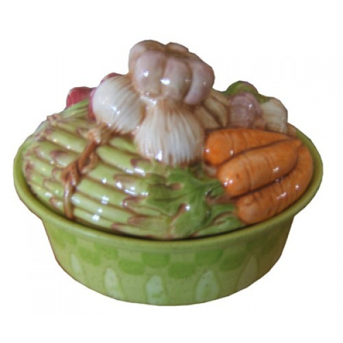 Sm. Vegetable Casserole Lid & Bottom Mold