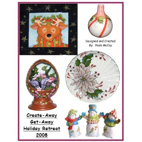 2008 Holiday Retreat Class in a Bag(5Pkg)