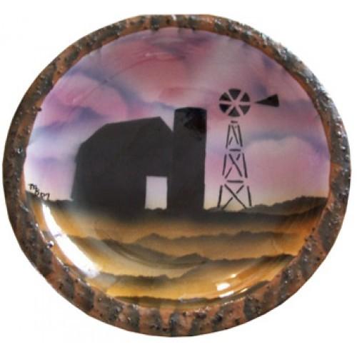 Morning on the Farm (Airbrush & Stencil)