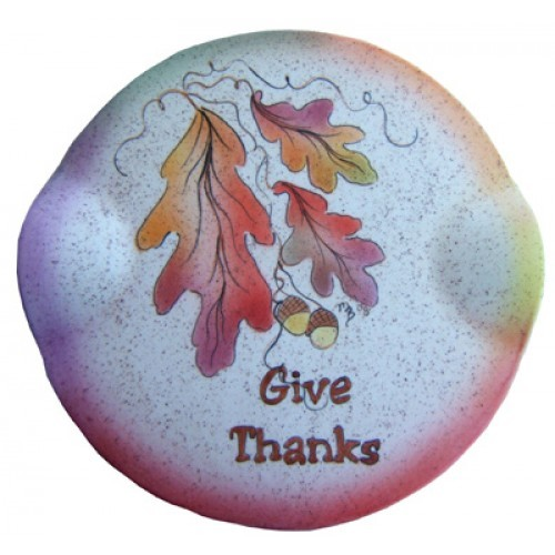 Give Thanks (Majolica & Brushwork)