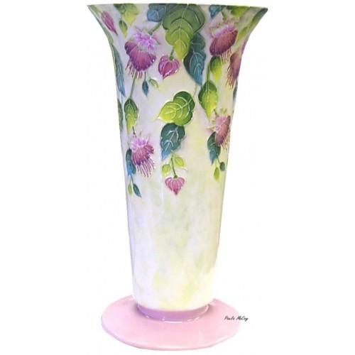 Fuchsia Fantasy Vase (Hardcopy)