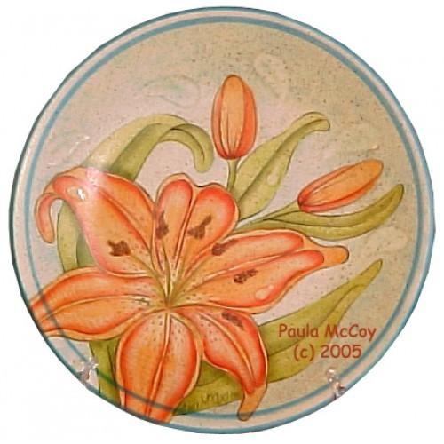Tiger Lily Vase/Plate (Hardcopy)