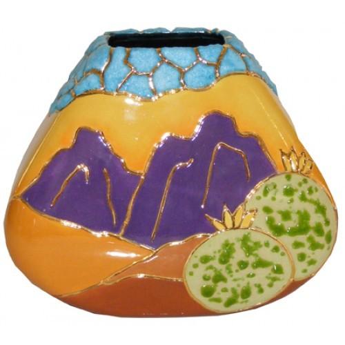 Southwest Turquoise Vase (Hardcopy)