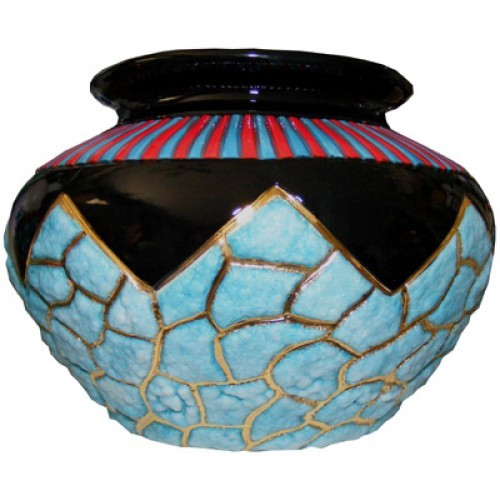 Southwest Turquoise Pot (2008 Retreat Advanced)(Hardcopy)