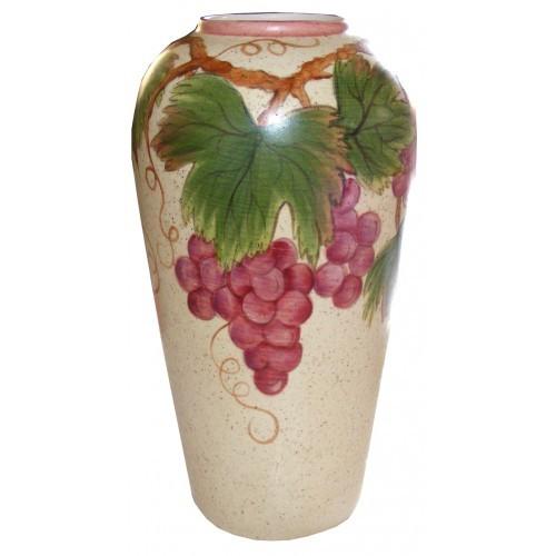 Grape Galore Vase (2009 Retreat)(Hardcopy)