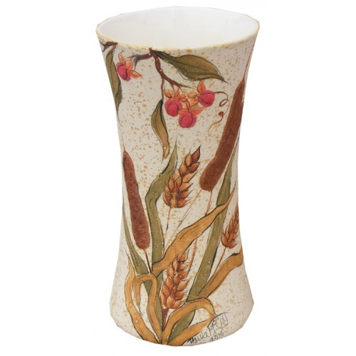 Wheat & Cattail Vase (2010 Retreat Holiday)(Hardcopy)