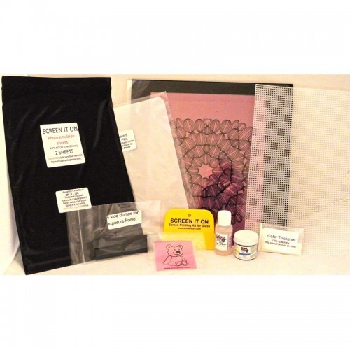 Glass Silk Screen Kit