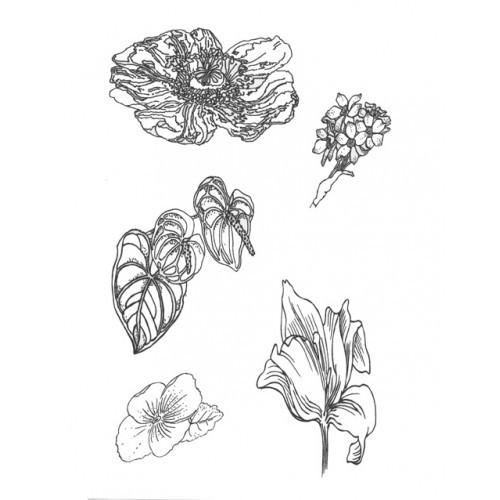 SSDFL-1 Flowers Designer Silk Screen