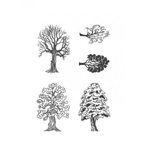 SSDTR-1 Trees Designer Silk Screen