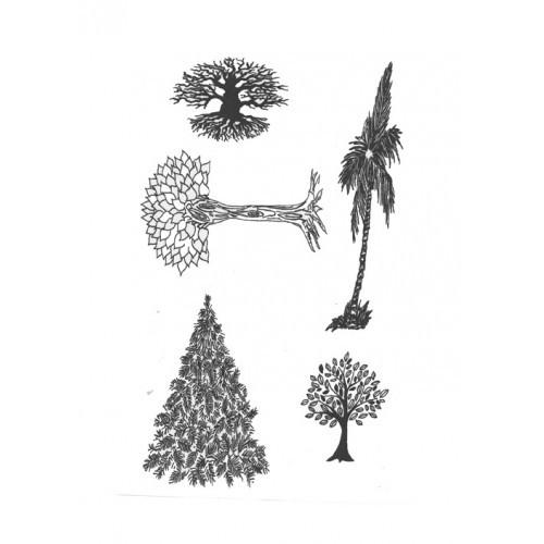 SSDTR-2 Trees Designer Silk Screen