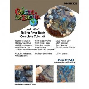 Mark Hufford's Rolling River Rocks Color Kit