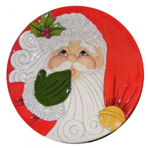 Santa Face Plate