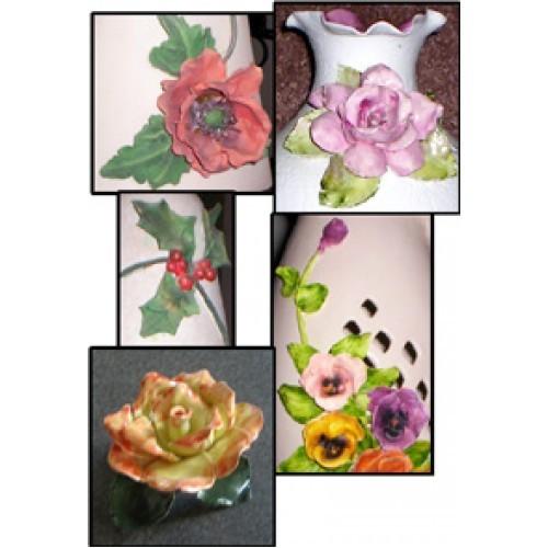 Hand Built Flowers