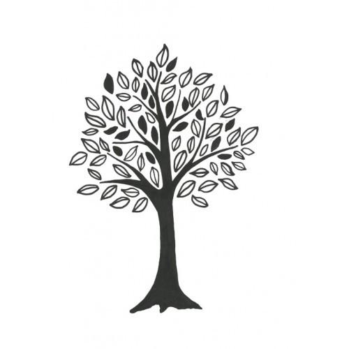 SSDTR811-1 Trees Designer Silk Screen
