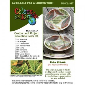 Mark Hufford's Croton Leaf Project Color Kit